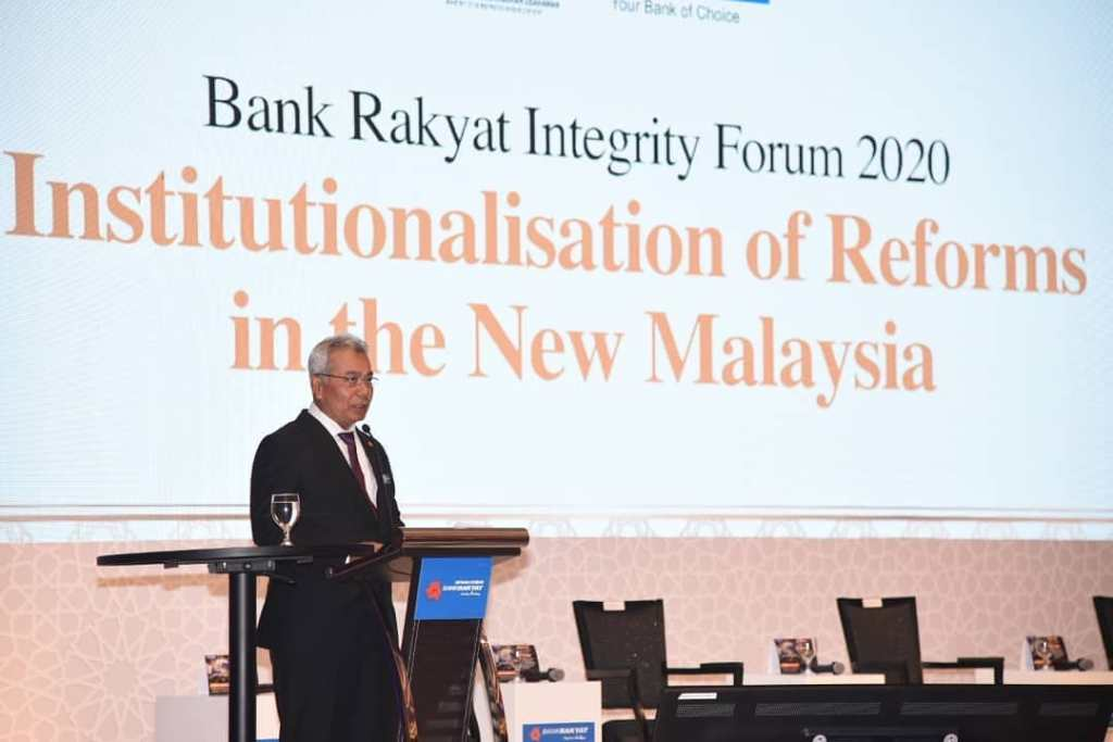 Bank Rakyat Practices No Gift Policy For All its Events