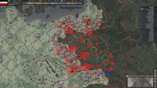 Test de Hearts of Iron 3 – Their Finest Hour