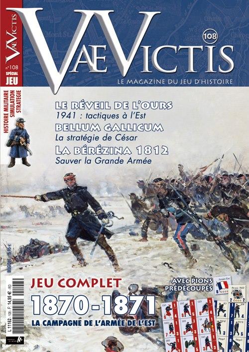 Le numéro 107 de Vae Victis vient de paraitre, avec au choix une édition normale ou avec un jeu sur le début de la Guerre de Corée (cliquez sur l'image pour accéder au sommaire du magazine).