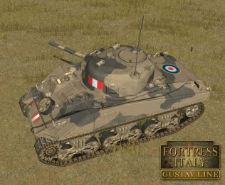Combat Mission Fortress Italy - Gustav Line - new-british-sherman-1