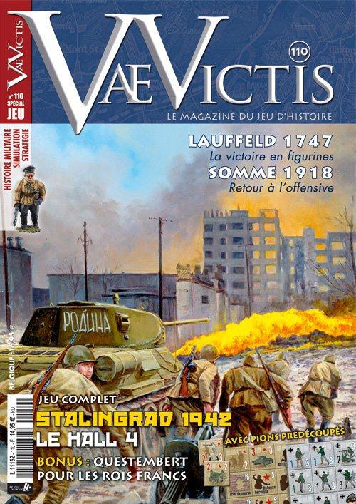 Le nouveau numéro de Vae Victis arrive, avec toujours en option un wargame, cette fois sur le thème de Stalingrad en 1942 (cliquez sur l'image pour accéder au sommaire du magazine).