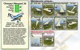 Manœuvres uniques et interdites pour la dernière évolution du Nieuport