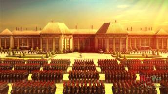 Napoléon et sa garde impériale