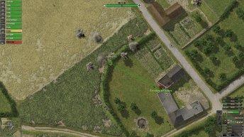 L'infanterie allemande s'en prend à une section Bren britannique.