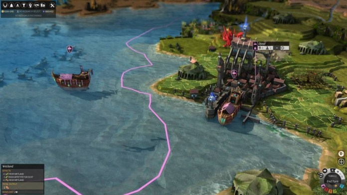 Endless Legend - navires