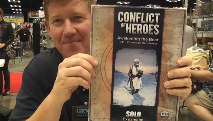 Conflict of Heroes - Solo Expansion - Gen Con 2014