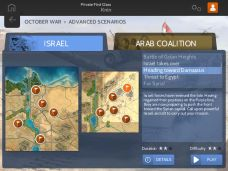 wars-battles-october-war-Scenarios listing