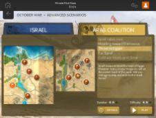 wars-battles-october-war-UI - Scenario Listing
