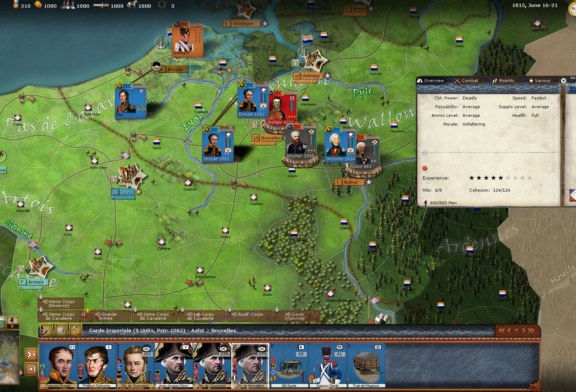 Wars of Napoleon ressort sur Steam