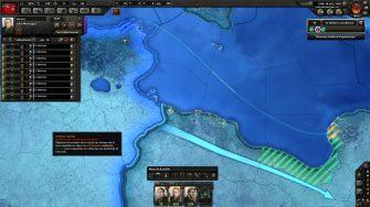 Les invasions navales ont été revues et se déclenchent plus facilement. Jouant le Canada, j'apporte une contribution décisive à la guerre en Afrique du Nord.