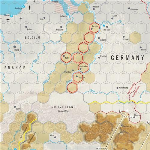 World at War 60 - Eisenhower's War - carte