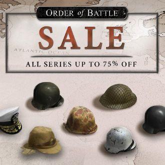 Order of Battle Sale - Slitherine