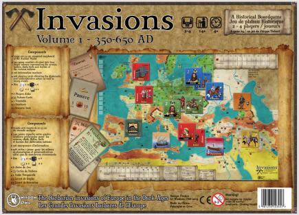 Invasions : Volume I – Wisdom Owl – Dos boîte du jeu