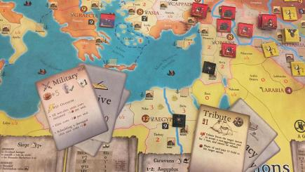 Invasions : Volume I - Wisdom Owl - Plateau de jeu et cartes