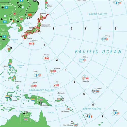 World at War 70 map