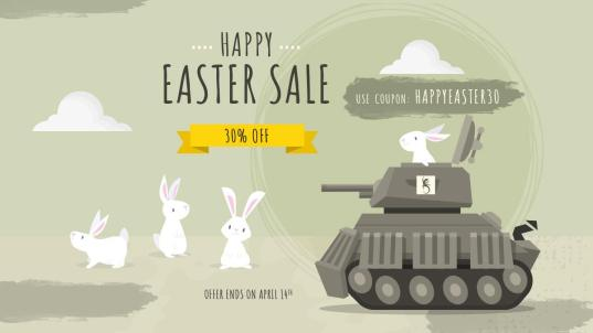 Happy Easter sale - Slitherine