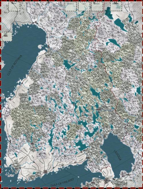 SGS - Winter War map