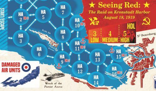 Seeing Red: The Raid on Kronstadt Harbor, August 18, 1919 - carte