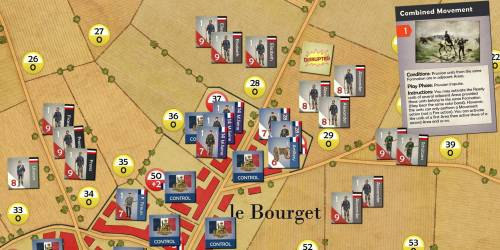 A Matter of Honor - The Battle of Le Bourget - map