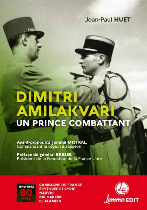 Dimitri Amilakvari, un prince combattant - Lemme Edit