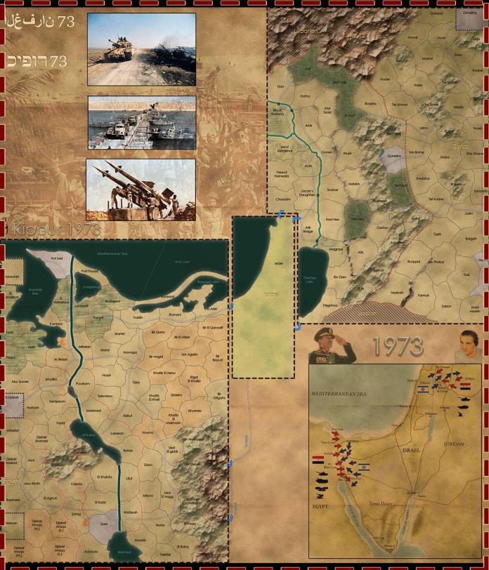 Wars Across the World - Kippur 1973