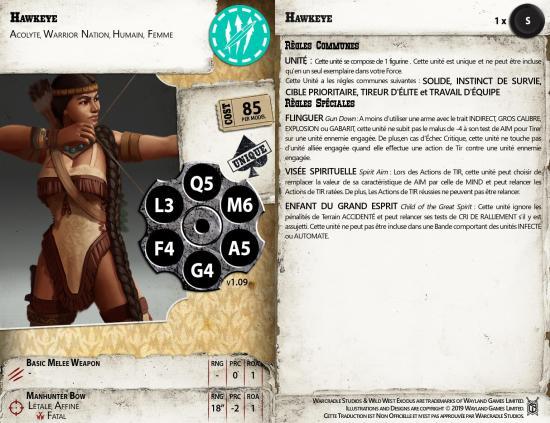 Wild West Exodus - Hawkeye