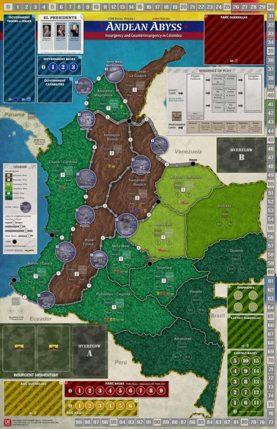 Andean Abyss - map - GMT