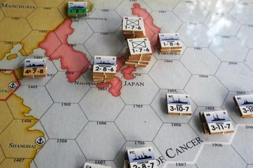 Empire at Sunrise: The Great War in Asia, 1914 - map