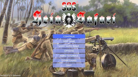 SGS Heia Safari - Menu