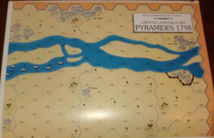 VaeVictis 23 - 1798 Les pyramides - Jours de Gloire - Carte
