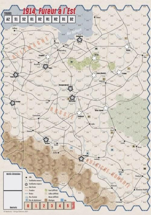 VaeVictis 155 - 1914 Fureur à l'est