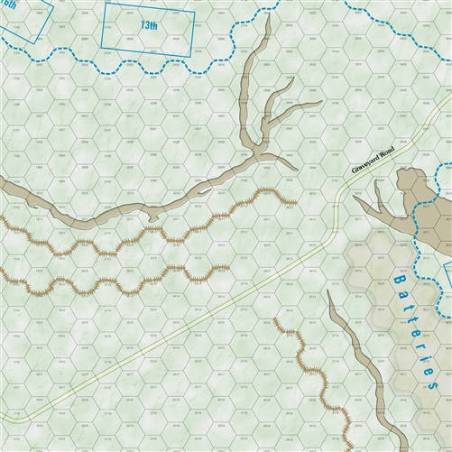 Strategy & Tactics Issue 328 - map