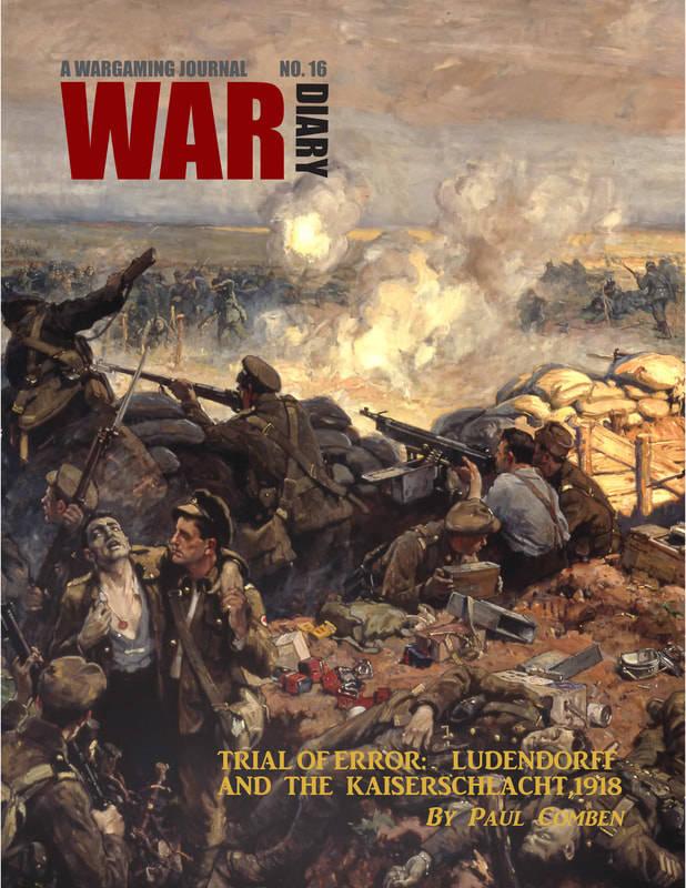 War Diary 16 ⬡ Gazette du wargamer