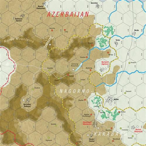 Modern War, Issue #54 - map