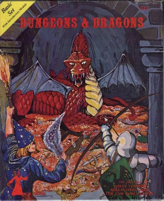 Dungeons & Dragons - Basic set - TSR