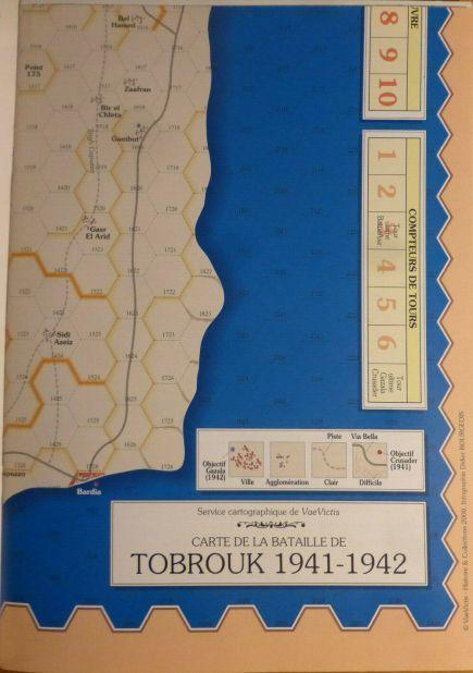 VaeVictis 34 - Tobrouk 1941-1942 - carte