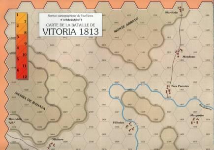 VaeVictis 12 - Vitoria 1813 - carte