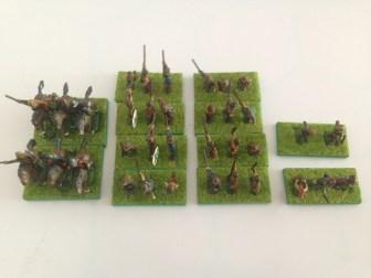 DBA Gallic Army