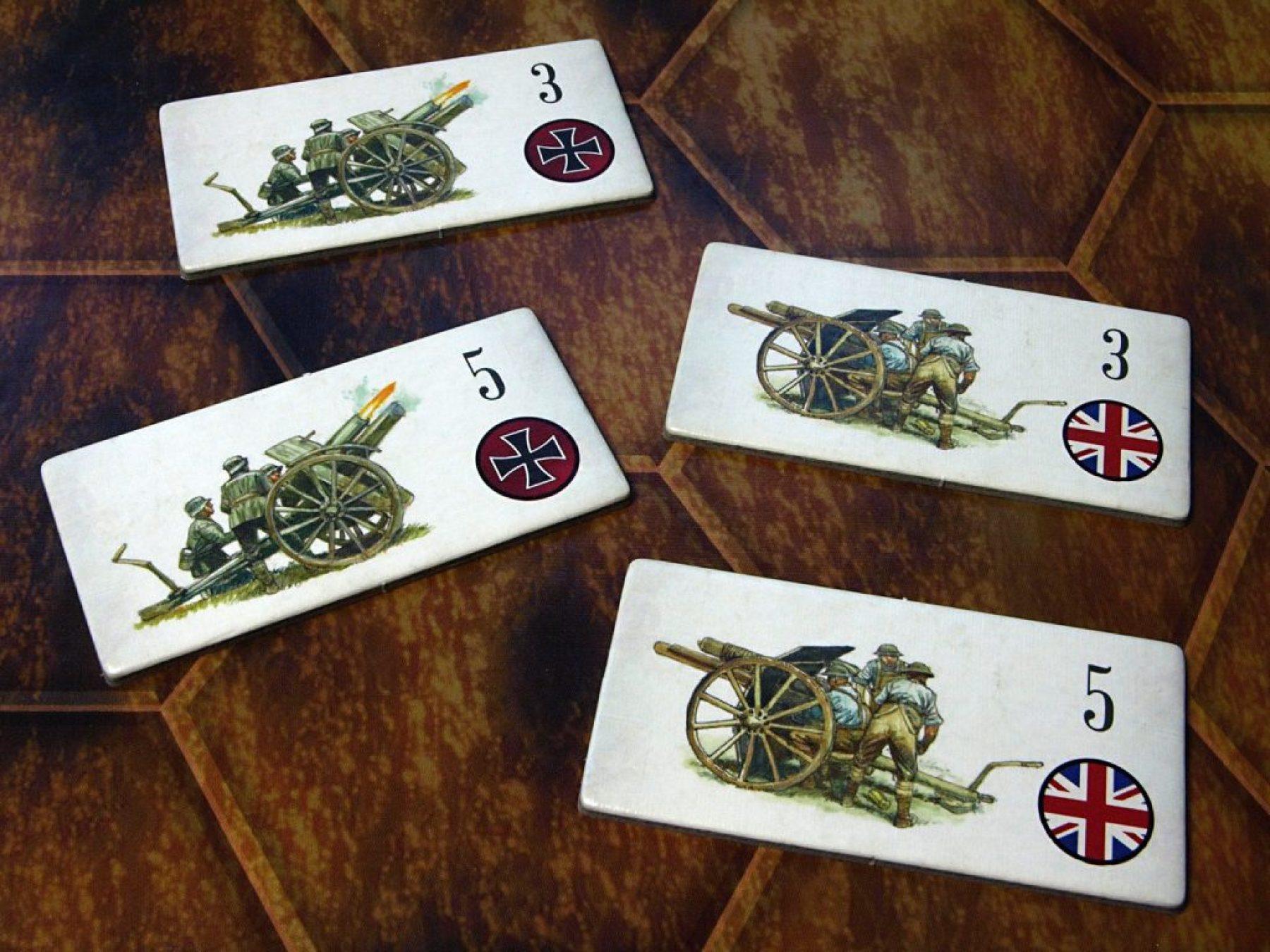 Reserve artillery tokens.