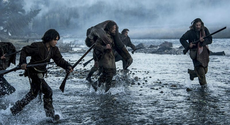 The Revenant Battle Scene