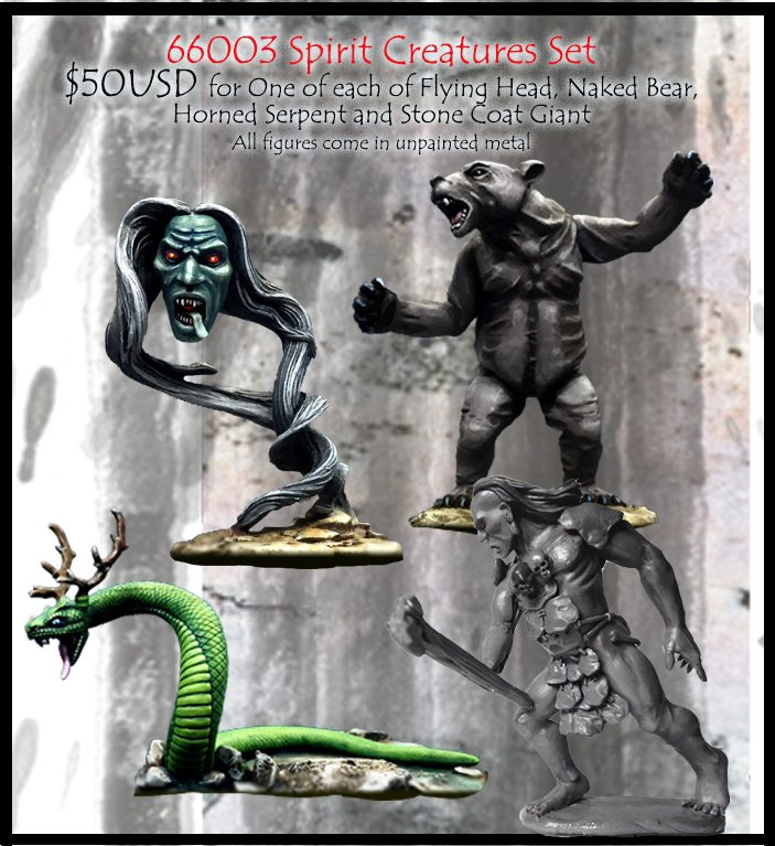 66003 Spirit Creatures