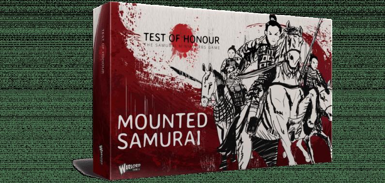 Box Top 3D Mounted Samurai