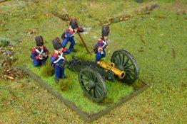Howitzer Firing