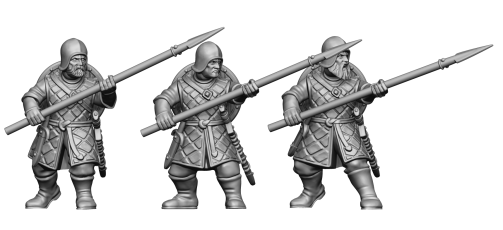 Two Hand Spear Infantry