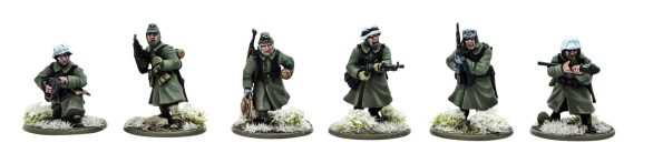 Bolt Action German Infantry (Winter) 2