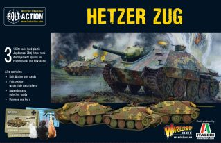 Bolt Action Hetzer Zug Cover