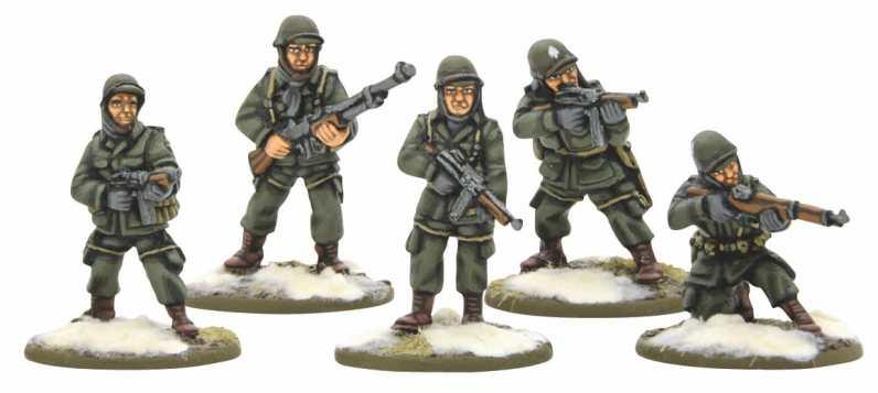 Bolt Action US Airborne Squad (Winter) 0