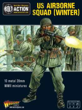 Bolt Action US Airborne Squad (Winter) Cover