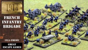 French Infantry Box