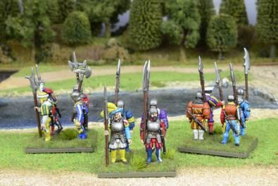 Lansknecht Infantry with Halbards